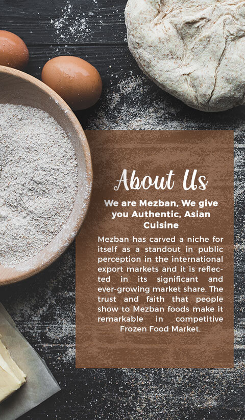 About Us, Mezban International
